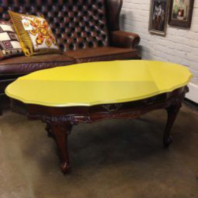 Salontafel Tripple Yellow