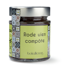Rode uien compote