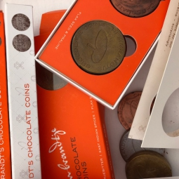 Image for Chocolate Coins Gift Box