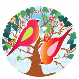 Image for Twin Love Birds (6x)