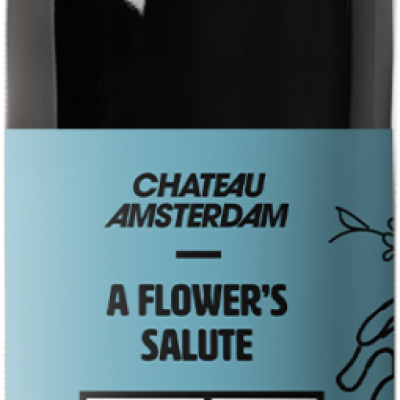 A flower's salute wine