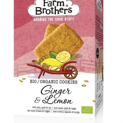 Image for Organic Ginger & Lemon cookies