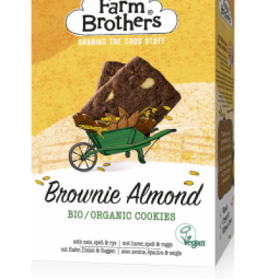 Organic Brownie & Almond cookies