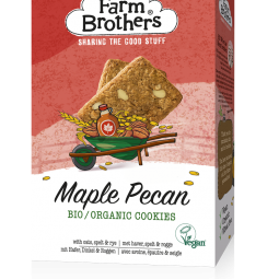Image for Organic Vegan Maple & Pecan cookies