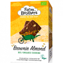 Image for Organic Brownie & Almond cookies